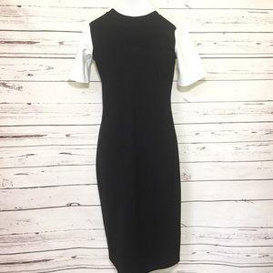 Sonnet James Black/Ivory Dress